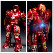 Hot sales Animation Avengers 18cm Iron man  Hulkbuster PVC Action Figure toys Robot kids toys Iron man dolls gifts Toys