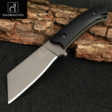 Full Tang New Outdoor Tactical Knife Survival Camping Tools Collection Hunting Knives With Imported K sheath Fixed Blade Knife(China)