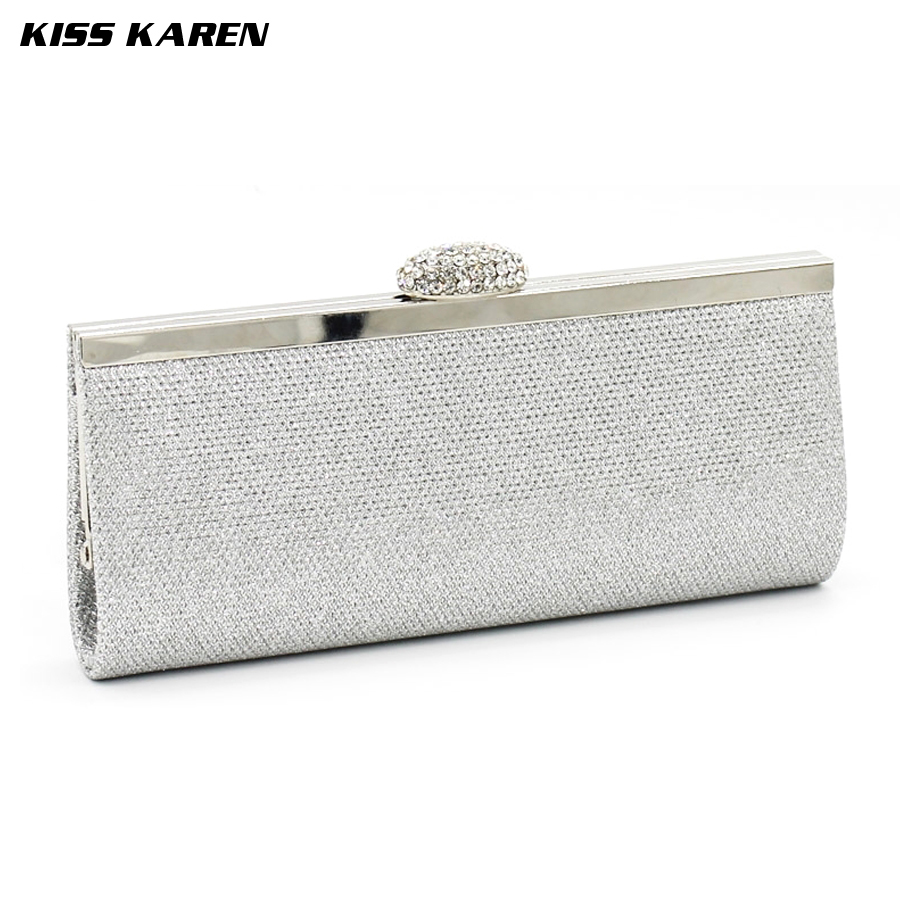 Kiss Karen Exquisite Frosted &amp;Glitter Powder Womens Clutches Evening Bags Women Party Clutch Bags Club Sexy Lady Minaudiere<br><br>Aliexpress