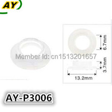500pieces/set auto spare parts pintle cap fuel injector repair kit plastic washer gasket for Nissan and Subaru (AY-P3006)(China)
