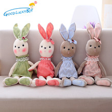 40cm Cute Kawaii Toys Soft Stuffed Animal Plush Rabbit Doll Beautiful Sweet Cloth  Appease Toys Gifts For Childrens Girls Kids