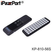 [Free DHL] Original iPazzPort KP-810-56S Mini Wireless Bluetooth Keyboard for Apple TV 4 High Quality - 40pcs(China)