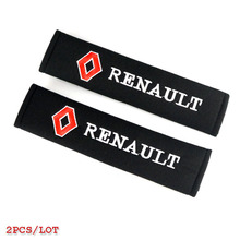 car sticker car styling case for Renault duster megane 2 logan renault clio accessories all cotton car-styling 2pcs/lot