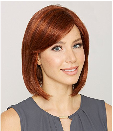 Synthetic Wig Hot  Hairstyle New Stylish Kanekalon Short Straight Ladys Fashion Sexy Cosplay Party Hair Wigs Brownish Red Color<br><br>Aliexpress
