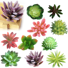 1pcs Artificial Succulents Land Lotus Plants Grass Desert Artificial Landscape Plant Fake Flower Arrangement Home Garden Decor