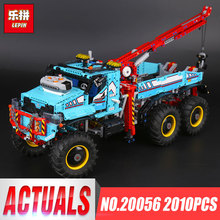 Lepin 20056 1912Pcs Technic Series The Ultimate All Terrain 6X6 Remote Control Truck Set Building Blocks Bricks Toys Model 42070