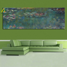 YWDECOR Sale Print Claude Monet Oil Painting Lotus Oil Painting on Canvas Impressionist Wall Art Picture Poster for Living Room(China)