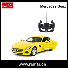 Rastar Licensed Mercedes AMG GT rc auto modell open door by remote controller 1:14 rc-drift-car 74000(China)