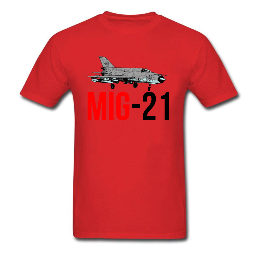 MIG 21 Jet Air Plane_red
