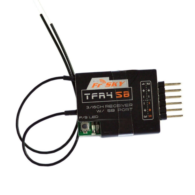 FrSky TFR4SB 3/16Ch SBUS Receiver 2.4GHz Compatible CPPM Futaba FASST S.Bus-m15<br>