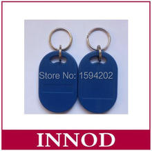 100 Pcs/lot new custom long range 5cm-2meters waterproof uhf rfid Door Access Control System Keyfob Keychain Cards tag with ABS