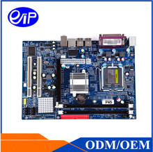 Intel P45 chipest LGA771 motherboard Dual channel DDR3 Xeon E345/E5420/E5440/E5450 Mirco ATX Motherboard(China)