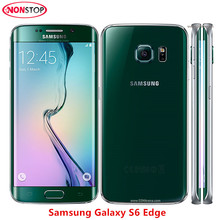 "Original Unlocked Samsung Galaxy S6 Edge G925F Octa Core Phone 3GB RAM 32GB ROM Android 16.0MP 5.1"" Refurbished Mobile Phone(China)"