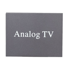 Super Mini Metal Design DVB Car DVD TV Receiver Easy Installation Monitor Analog TV Tuner Strong Signal Box with Antenna(China)