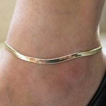 Creative 1Piece Snake Design Gold Color Foot Chain Lady Girl Adjustable Ankle Bracelet Chain Anklet Jewelry