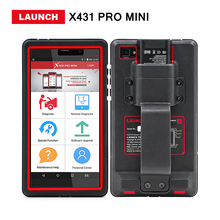 Launch X431 Pro Pros mini Full system obd2 diagnostic tool X-431 pro mini 2 years Free update online diagun replacement DHL free(China)