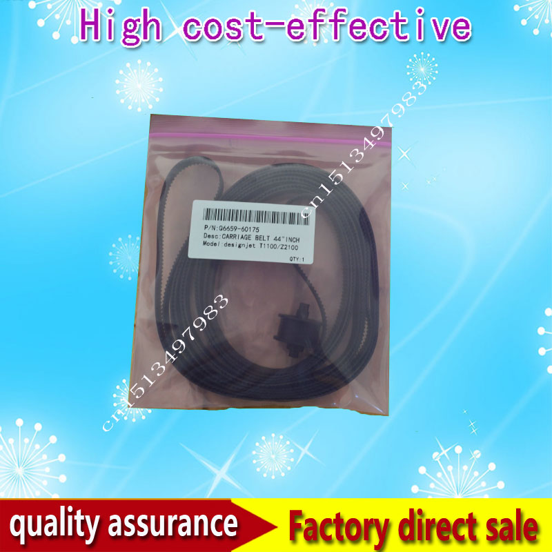 New Original DesignJet T610 T1100 Z2100 Z3100 610 1100 2300 Carriage Belt 44 inch Q6659-60175 printer parts<br><br>Aliexpress