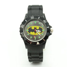 2016 Cartoon Children Brand Watch batman Watches Fashion boy Kids express silica quartz WristWatch Gift relojes(China)