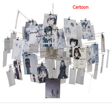 Christmas Promotion Dia120cm Zettel'z 5 Paper Zettel Pendant lights Cartoon Card abajur E27 Light Fixtures Supernova sale new