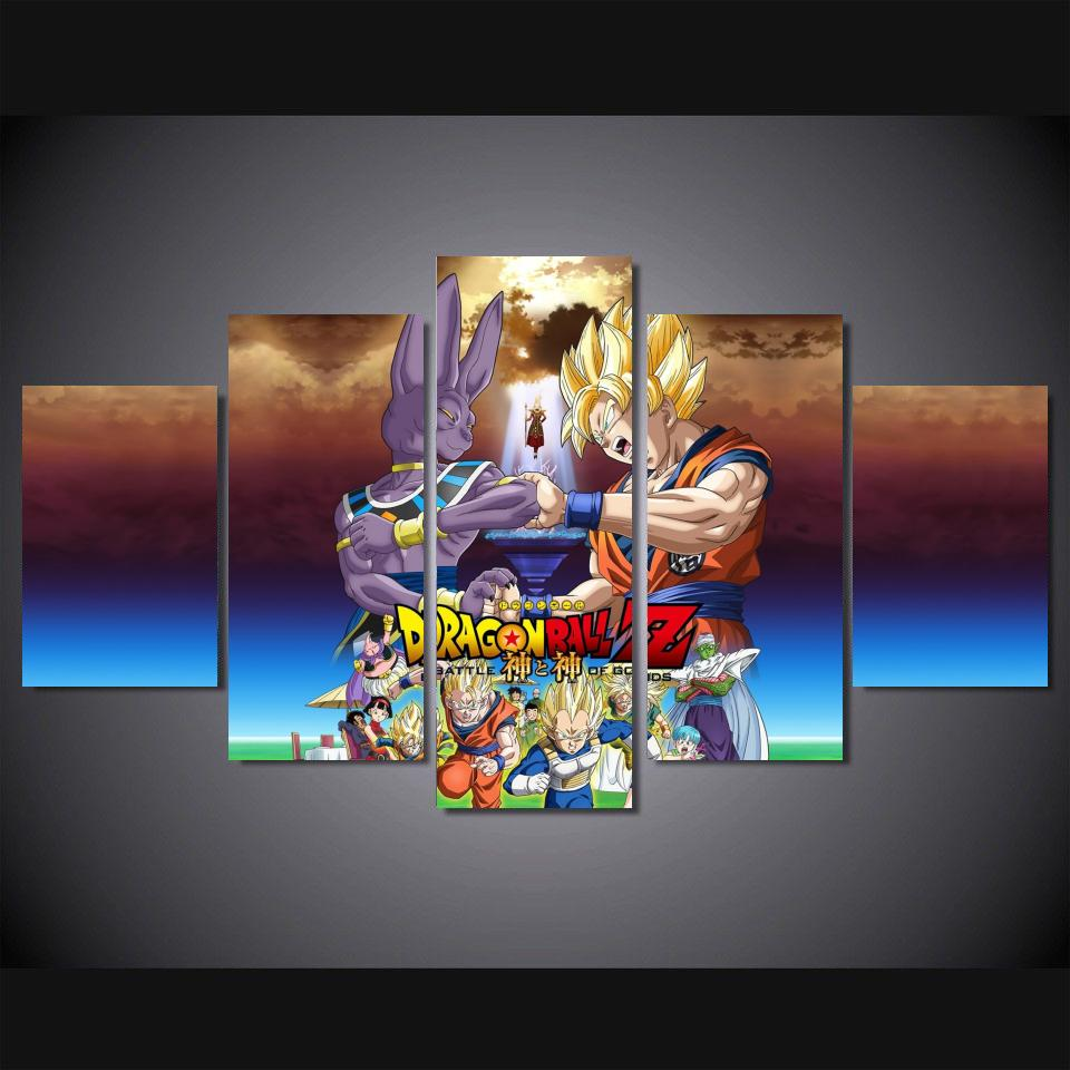 Popular dragon art buy cheap dragon art lots from china for Dragon ball z living room