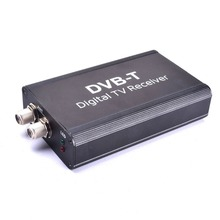 Auto Digital TV Box DVB-T T1 MPEG4 H.264 HD Dual Antenna Strong Signal Europe Universal for Car Stereo GPS Navigation DVD Player(China)