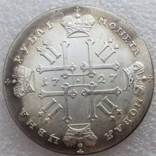 1727 Russia 1 Rouble Ruble Peter II Copy Coins Free Shipping metal craft dies manufacturing factory(China)
