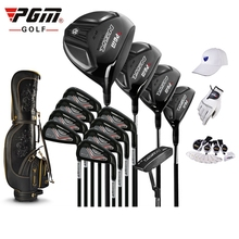 brand PGM collections. 13 pics Luxury MENS golf clubs complete set carbon shaft with bag Titanium Alloy for Rod of Driver