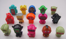30pcs/lot different style ToonZ cartoon figure have 2 alterable face(China)