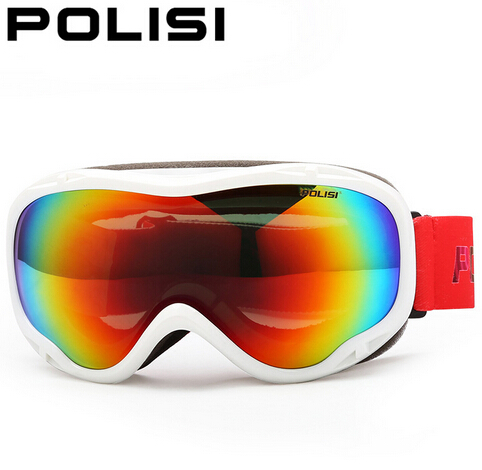 POLISI Ski goggles Double Myopia Polarized Light Mountaineering Fight Against Prevent Mist Ski Glasses Outdoor sports<br>