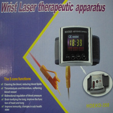CE TV 650nm laser therapy massage Wrist Diode Laser rhinitis nasal Treatment Semiconductor Laser sinusitis Therapeutic device