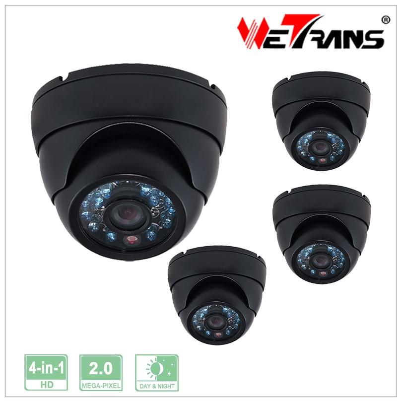 Indoor Security CMOS HD 1080P Metal Vandalproof Dome 3.6mm Camera 2.0MP CCTV Camera 4 in 1 Support AHD/CVI/TVI/CVBS 4pcs/lot<br><br>Aliexpress