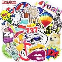 100 Pcs Mixed Stickers Hot Sale Snowboard Doodle Luggage Laptop Decal Toys Bike Car Motorcycle Phone Cartoon Jdm Funny Sticker