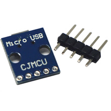 5pcs/lot Micro USB Interface Power Transfer Interface Breadboard 5V Power Module Development Board(China)