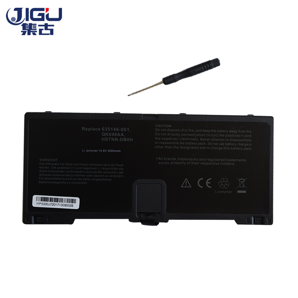 JIGU Laptop Battery 635146-001 FN04 HSTNN-DB0H HSTNN-DB0HP QK648AA  FOR HP ProBook 5330m