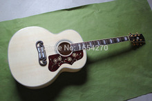 Free shipping NEW SJ200 NA43-inch veneer folk acoustic guitar with fishman pickups  150701