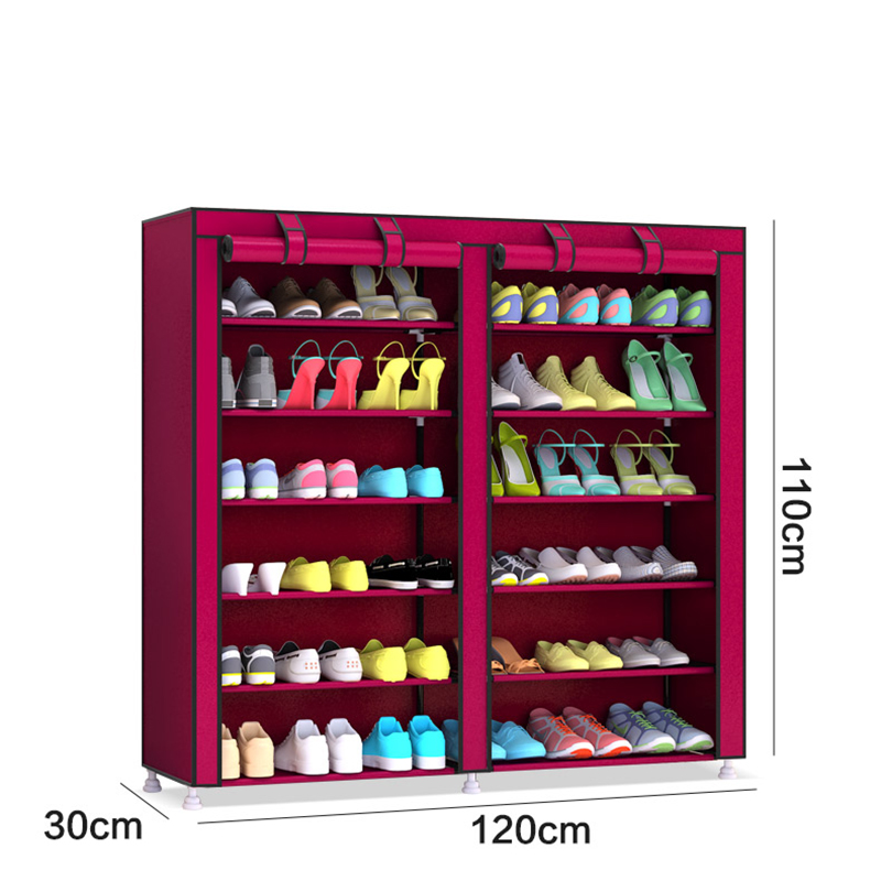 Shoes-Racks-Storage Cabinet Removable 12layers Large-Capacity Simple title=