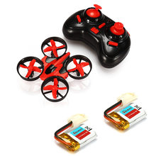 Eachine E010 Battery Set Mini 2.4G 4CH 6 Axis 3D Headless Mode Memory Function RC Quadcopter RTF RC Tiny Gift Present Kid Toys(China)