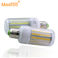 15W E27 LED Bulb Lamp 220V 230V 240V Corn Light Power 3W 5W 7W 9W 12W Spotlight Ampoule LED 30-165Led Bulb Home Lighting SMD5736(China)