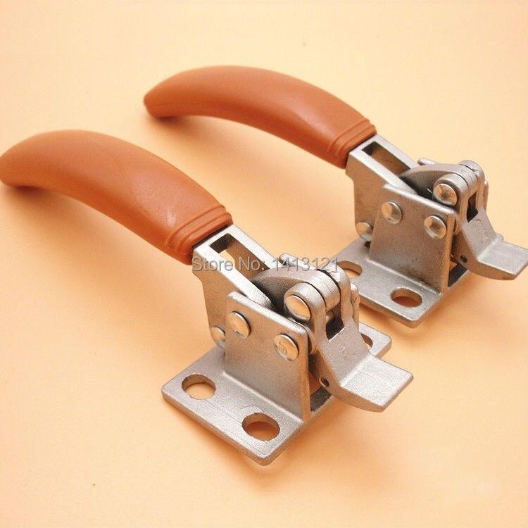 free shipping lever door handle steam box hinge oven door lock cold store hinge cabinet kitchen Freezer cookware repair part<br>