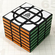 LeadingStar Fully-functional Super Crazy 3x3x7:01 I Magic Cube Black