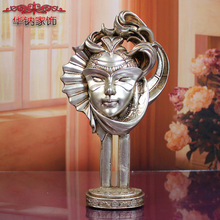 2017 New Direct Selling Sodium Supply Resin Home Furnishing Crafts Ornaments Boutique Saint vintage home decor The girl statue(China)