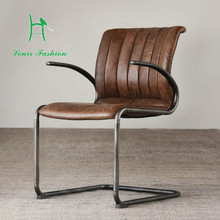Special offers/furniture imported leather/hand/American country/Bryson armchair/chairs
