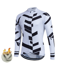 2017 High Quality Bicycle Cycling Winter Thermal Fleece Jersey Long Ropa Ciclismo Bike Clothing -J83JD
