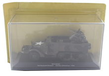 IXO 1/43 M16 American half track air defense vehicle model Alloy collection model Holiday gift(China)