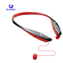 BLUEBAY Bluetooth earphone Wireless Headset Microphone AptX Sport headphone for lg iPhone  Xiaomi Android Phone
