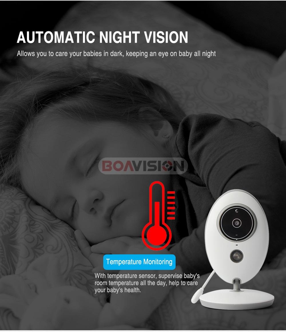 06 2.4ghz baby monitor