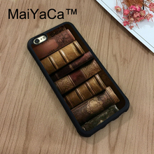Buy MaiYaCa Vintage Books iPhone 8 Case Soft TPU Rubber Phone Cases Cover Apple iPhone 8 Case Coque for $4.63 in AliExpress store