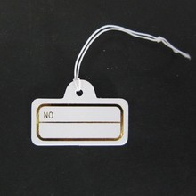 The price tag price elevator/jewelry tags elastic line price  Jewelry price tag elastic string