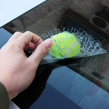 VCiiC 3D Car Stickers Ball Hits Car Body Window Sticker For VW Bora Jetta POLO GOLF Passat For Skoda Octavia A5 Fabia For SEAT(China)