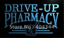 LK940- Drive Up Pharmacy RX Drug Stores   LED Neon Light Sign    home decor  crafts